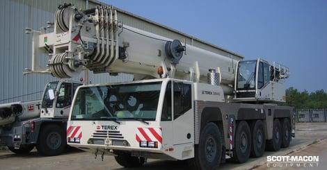 Terex crane image