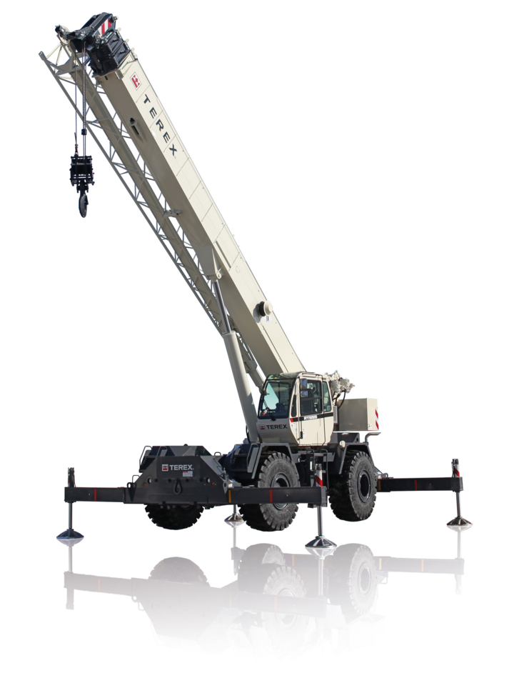 Rough Terrain Cranes - A Productive Solution for Tough Jobsites