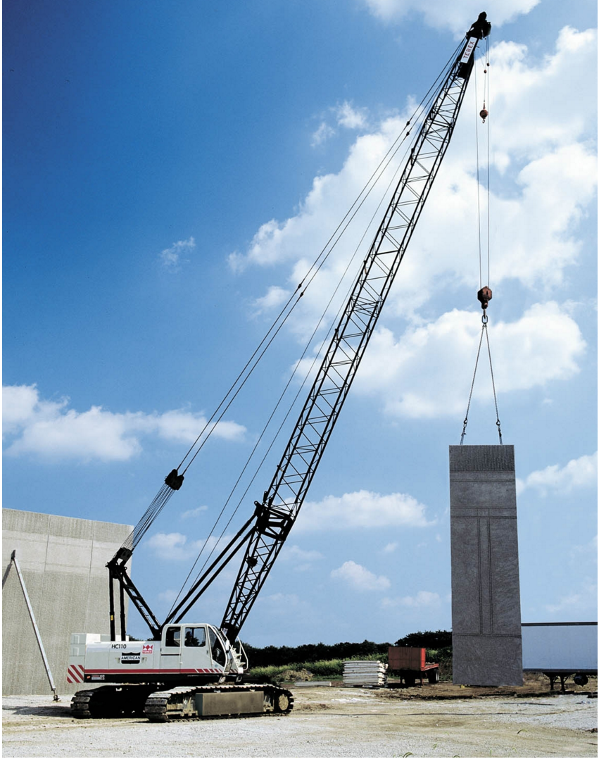 Terex® HC110 Lattice Boom Crawler Crane