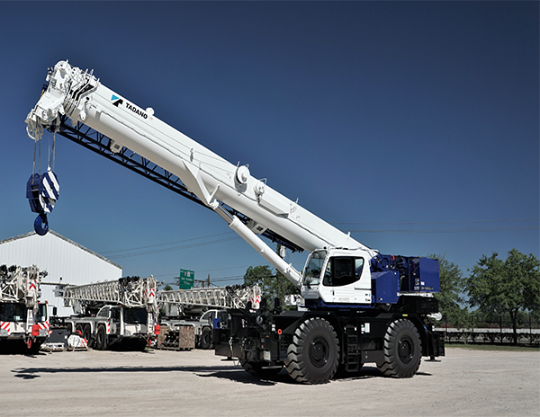 Scott-Macon Equipment Welcomes 2020 Tadano GR-1000XLL-4 and GR-800XL-4