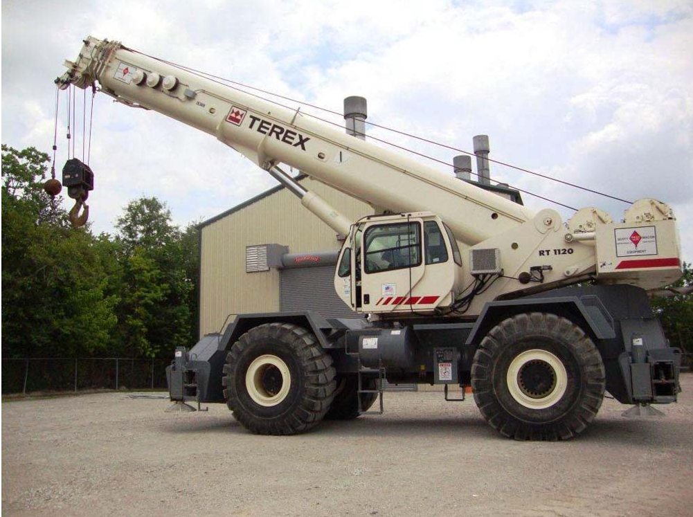 The Terex RT1120 Tackles the Toughest Jobsites with Ease